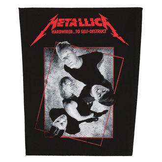 Petic mare METALLICA - HARDWIRED CONCRETE - RAZAMATAZ, RAZAMATAZ, Metallica