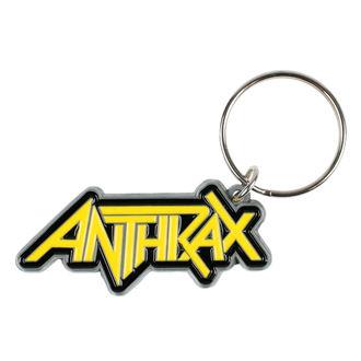 Breloc pandantiv ANTHRAX - LOGO - RAZAMATAZ, RAZAMATAZ, Anthrax