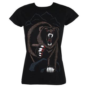 tricou hardcore femei - BEAR NECESSITIES - GRIMM DESIGNS, GRIMM DESIGNS