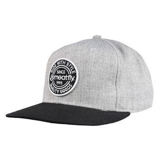 Șapcă MEATFLY - COMP SNAPBACK B - GRI HEATHER / BLACK, MEATFLY