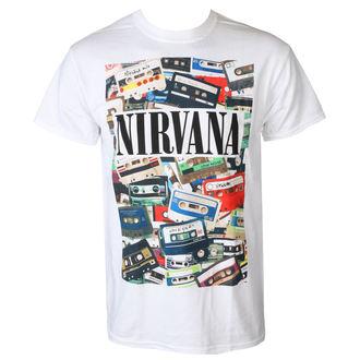 tricou stil metal bărbați Nirvana - CASSETTES - PLASTIC HEAD, PLASTIC HEAD, Nirvana