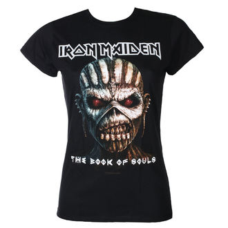 tricou stil metal femei Iron Maiden - Book Of Souls - ROCK OFF, ROCK OFF, Iron Maiden