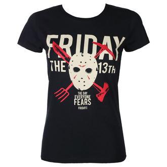 tricou cu tematică de film femei Friday 13th - DAY OF FEAR - PLASTIC HEAD, PLASTIC HEAD