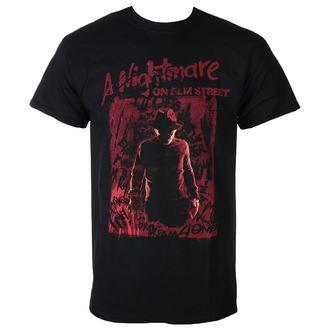 tricou cu tematică de film bărbați Noční můra z Elm Street - FREDDY SILHOUETTE - PLASTIC HEAD, PLASTIC HEAD