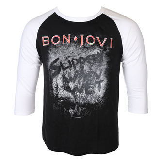 tricou stil metal bărbați Bon Jovi - SLIPPERY WHEN WET - PLASTIC HEAD, PLASTIC HEAD, Bon Jovi