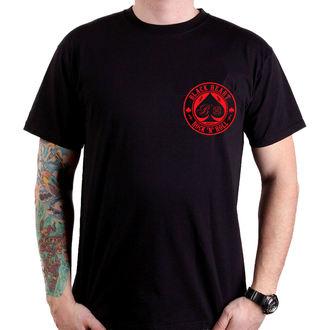 tricou de stradă bărbați - ACE OF SPADES - BLACK HEART, BLACK HEART
