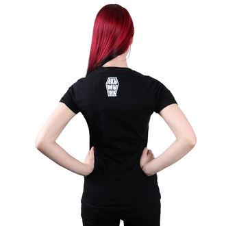 tricou hardcore femei - Conquer Thy Enemy - Akumu Ink, Akumu Ink