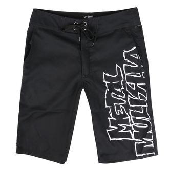 Pantaloni scurți bărbătești (pantaloni scurți înot) METAL MULISHA - SQUAD - BLK, METAL MULISHA