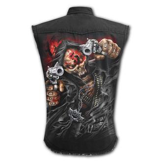 Tricou bărbătesc fără mâneci SPIRAL - Five Finger Death Punch - ASASIN, SPIRAL, Five Finger Death Punch