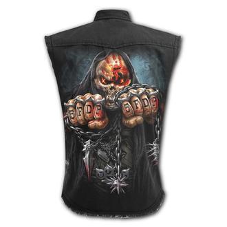 Tricou bărbătesc fără mâneci SPIRAL - Five Finger Death Punch - JOC PESTE, SPIRAL, Five Finger Death Punch
