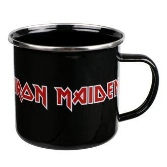 Halbă email Iron Maiden - Logo, Iron Maiden
