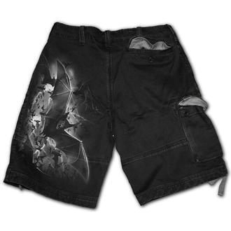 Pantaloni scurți bărbătești SPIRAL - BAT CURSE, SPIRAL