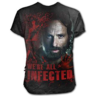 tricou cu tematică de film bărbați The Walking Dead - RICK - SPIRAL, SPIRAL