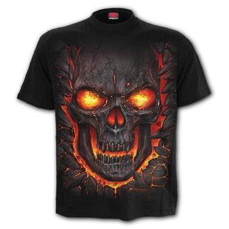 tricou bărbați - SKULL LAVA - SPIRAL, SPIRAL