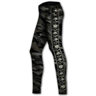 Pantaloni damă (colanți) SPIRAL - CAMO-SKULL, SPIRAL