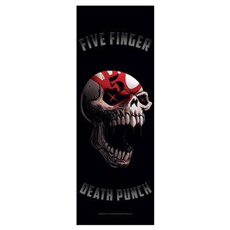 Steag Five Finger Death Punch - Speech Skull, HEART ROCK, Five Finger Death Punch