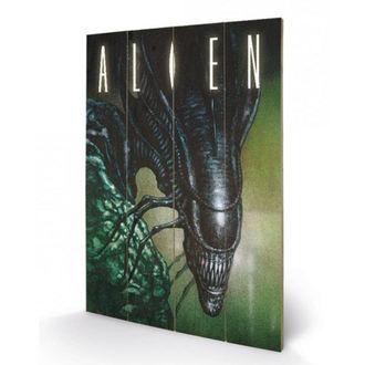 Pictură pe lemn Alien - (Creep) - PYRAMID POSTERS, PYRAMID POSTERS, Alien - Vetřelec