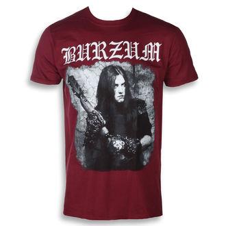 tricou stil metal bărbați Burzum - ANTHOLOGY 2018 (MAROON) - PLASTIC HEAD, PLASTIC HEAD, Burzum