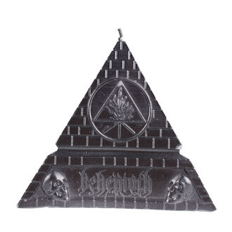 Lumânare BEHEMOTH - UNHOLY TRINITY PYRAMID - BLACK- PLASTIC HEAD, PLASTIC HEAD, Behemoth