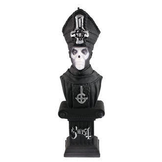 Lumânare GHOST - PAPA EMERITUS - BLACK MATT - PLASTIC HEAD, PLASTIC HEAD, Ghost