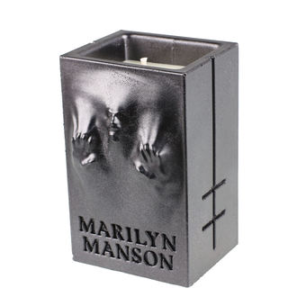 Lumânare MARILYN MANSON - BLACK METALLIC - PLASTIC HEAD, PLASTIC HEAD, Marilyn Manson