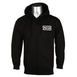 hanorac cu glugă bărbați Nine Inch Nails - CLASSIC WHITE LOGO - PLASTIC HEAD, PLASTIC HEAD, Nine Inch Nails