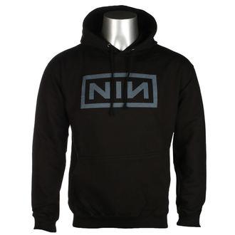 hanorac cu glugă bărbați Nine Inch Nails - CLASSIC GREY LOGO - PLASTIC HEAD, PLASTIC HEAD, Nine Inch Nails