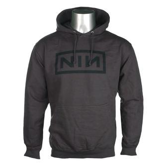 hanorac cu glugă bărbați Nine Inch Nails - CLASSIC BLACK LOGO - PLASTIC HEAD, PLASTIC HEAD, Nine Inch Nails