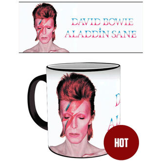 Cană cu THERMOFOIL David Bowie - GB posters, GB posters, David Bowie