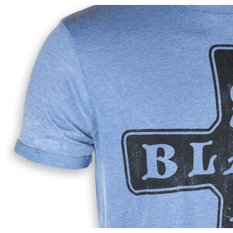 tricou stil metal bărbați Black Sabbath - Burnout Mid Blue - ROCK OFF, ROCK OFF, Black Sabbath