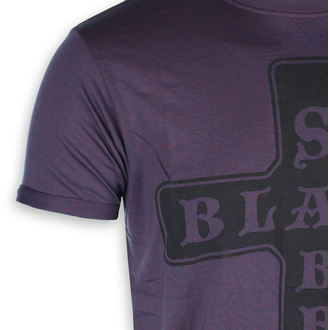 tricou stil metal bărbați Black Sabbath - Burnout Navy/Red - ROCK OFF, ROCK OFF, Black Sabbath