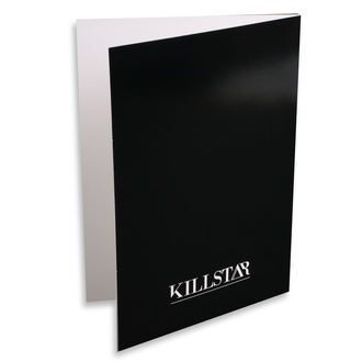 Felicitare KILLSTAR - Taurus - BLACK, KILLSTAR