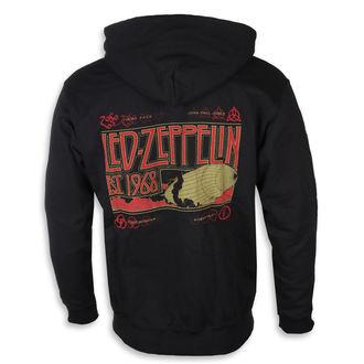 hanorac cu glugă bărbați Led Zeppelin - Zeppelin & Smoke Black - NNM, NNM, Led Zeppelin