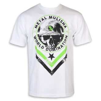 tricou de stradă bărbați - SEAL WHT - METAL MULISHA, METAL MULISHA