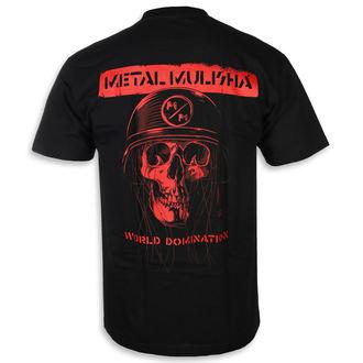 tricou de stradă bărbați - UNDEAD BLK - METAL MULISHA, METAL MULISHA