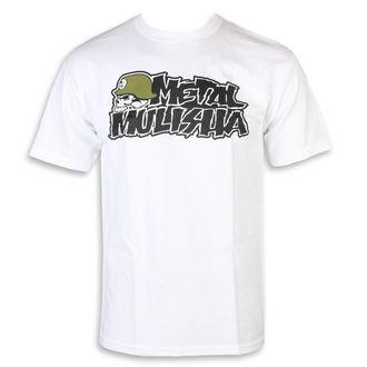 tricou de stradă bărbați - IKON WHT - METAL MULISHA, METAL MULISHA