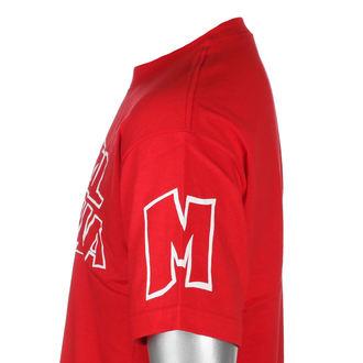 tricou de stradă bărbați - SQUAD RED - METAL MULISHA, METAL MULISHA