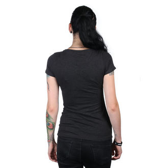 tricou de stradă femei - IKON SCOOP BLK - METAL MULISHA, METAL MULISHA
