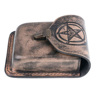 Buzunar de curea  Baphomet, Leather & Steel Fashion