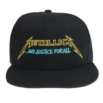 Șapcă Metallica - Justice Bright Starter - Black, NNM, Metallica