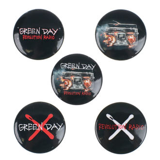 Insigne Green Day - Revolution Radio - RAZAMATAZ, RAZAMATAZ, Green Day