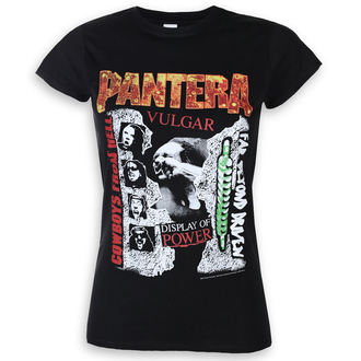 tricou stil metal femei Pantera - 3 Albums - ROCK OFF, ROCK OFF, Pantera