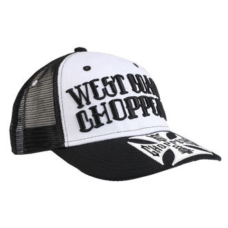 Șapcă WEST COAST CHOPPERS - CLUTCH LOGO ROUND BILL - Black, West Coast Choppers
