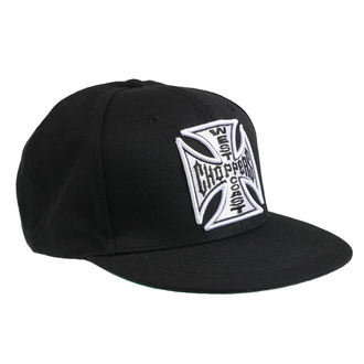Șapcă WEST COAST CHOPPERS - CROSS FLATBILL - BLACK, West Coast Choppers
