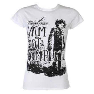 tricou cu tematică de film femei Střihoruký Edward - I Am Not Complete - HYBRIS, HYBRIS, Střihoruký Edward