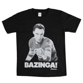 tricou cu tematică de film copii Teorie velkého třesku - Sheldon Says BAZINGA! - HYBRIS, HYBRIS