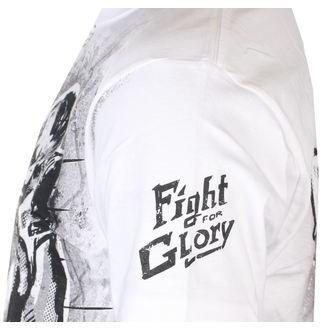 Tricou bărbătesc ALISTAR - Fight for Glory - White, ALISTAR
