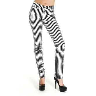pantaloni (unisex) 3RDAND56th - In dungi Slab - Negru / alb, 3RDAND56th