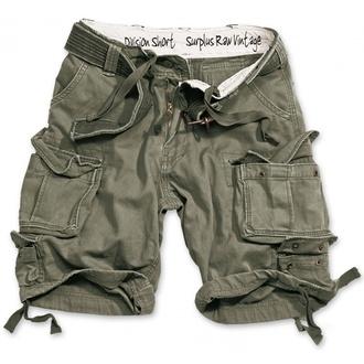 pantaloni scurți SURPLUS - DIVISION MIC DE STATURA - OLIV, SURPLUS