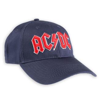 Șapcă AC / DC - Red Logo Navy - ROCK OFF, ROCK OFF, AC-DC